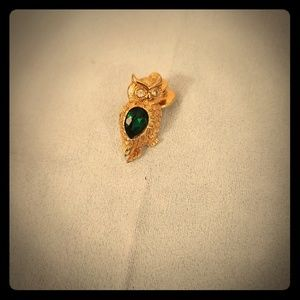 Avon vintage jelly belly owl brooch